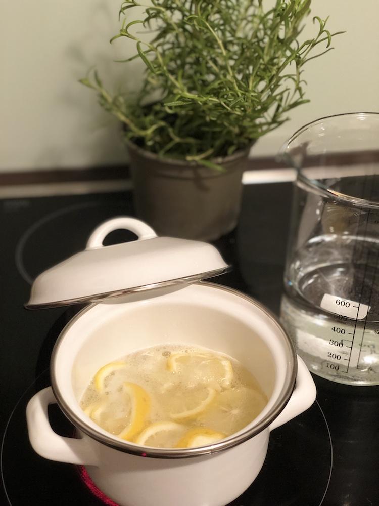 Zitrone gegen Flöhe beim Hund