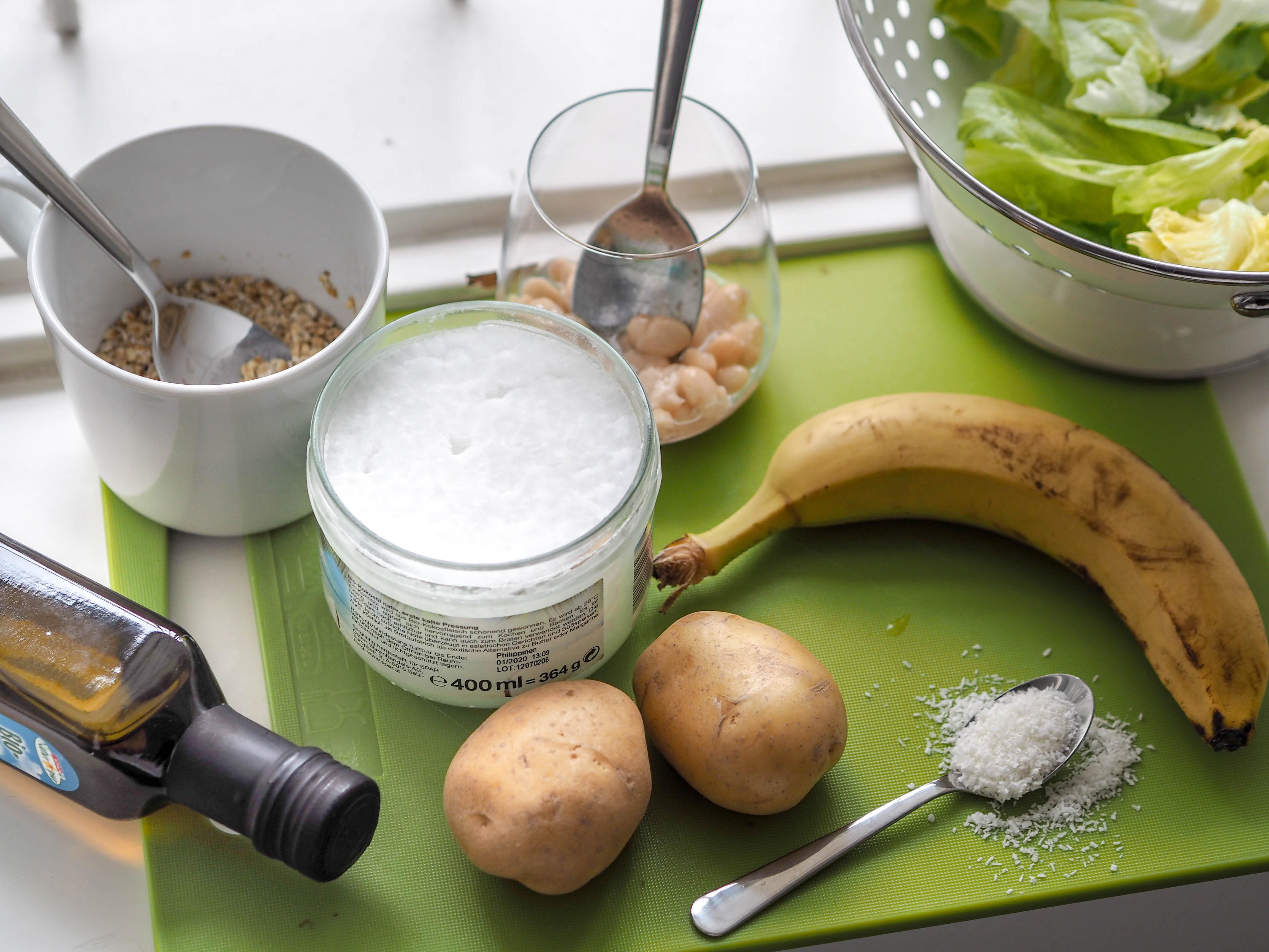 Zutaten veganes BARF Rezept
