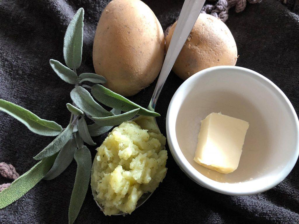 salbei-kartoffelbrei